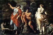 CARRACCI, Annibale The Choice of Heracles sd oil on canvas