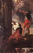 CARRACCI, Lodovico The Martyrdom of St Margaret fg oil on canvas