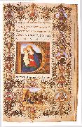 CHERICO, Francesco Antonio del Prayer Book of Lorenzo de  Medici uihu oil on canvas