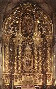 CHURRIGUERA, Jose Benito Main Altar dsf oil on canvas