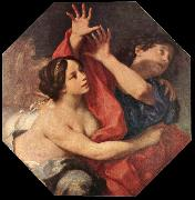 CIGNANI, Carlo Joseph and Potiphar s Wife oil on canvas