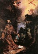 CIGOLI St Francis Receives the Stigmata  g oil on canvas