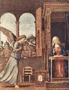CIMA da Conegliano The Annunciation dfg oil on canvas