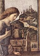 CIMA da Conegliano The Annunciation (detail) dsg oil on canvas