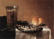 CLAESZ, Pieter Still-life with Herring fg oil on canvas