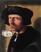 CORNELISZ VAN OOSTSANEN, Jacob Self-Portrait dfgd oil on canvas