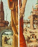 COSSA, Francesco del St Peter and St John the Baptist, details (Griffoni Polyptych) sdf oil painting reproduction