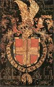 COUSTENS, Pieter Coat-of-Arms of Philip of Savoy dg oil on canvas