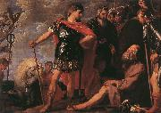 CRAYER, Gaspard de Alexander and Diogenes fdgh oil on canvas