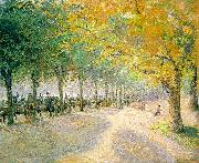 Camille Pissaro Hyde Park, London painting