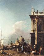 Canaletto Venice: The Piazzetta Looking South-west towards S. Maria della Salute sdfg china oil painting artist