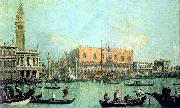 Canaletto Veduta del Palazzo Ducale oil on canvas