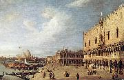 Canaletto View of the Ducal Palace f china oil painting artist