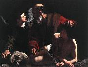 Caravaggio The Sacrifice of Isaac oil painting reproduction