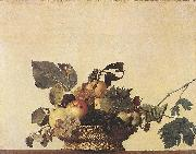 Caravaggio Basket of Fruit df oil painting reproduction