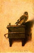 Carel Fabritus The Goldfinch oil on canvas