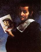 Carlo  Dolci Self Portrait_i oil on canvas