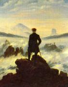 Caspar David Friedrich The Crow 1 oil on canvas