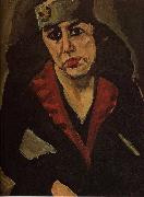 Chaim Soutine La Russe (Portait de Femme) oil on canvas