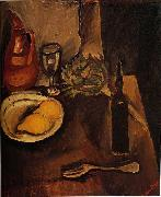Chaim Soutine Still Life with Lemons oil on canvas