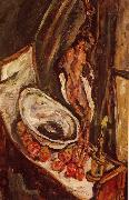 Chaim Soutine Nature Morte au Faisan oil on canvas