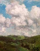 Charles Harold Davis Clouds and Shadow oil on canvas