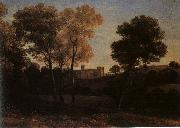 Claude Lorrain View of La Crescenza oil on canvas