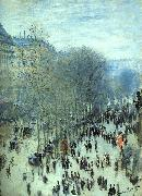 Claude Monet Boulevard des Capucines oil on canvas