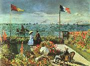 Claude Monet Terrace at St Adresse oil on canvas