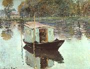 Claude Monet The Studio Boat oil on canvas
