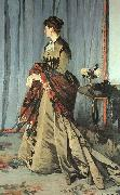 Claude Monet Madame Gaudibert oil painting reproduction