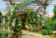 Colin Campbell Cooper Summer Verandah oil on canvas