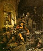 Cornelis Bega The Alchemist oil painting reproduction