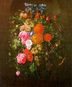 Cornelis de Heem Still Life with Flowers oil on canvas