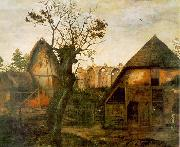 Cornelis van Dalem Landscape oil on canvas
