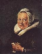 DOU, Gerrit Portrait of an Old Woman df oil painting reproduction