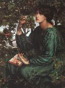Dante Gabriel Rossetti The Day Dream oil painting