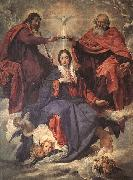 Diego Velazquez The Coronation of the Virgin oil painting reproduction