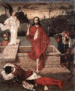 Dieric Bouts Resurrection oil painting reproduction