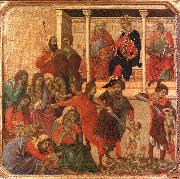Duccio di Buoninsegna Slaughter of the Innocents oil painting