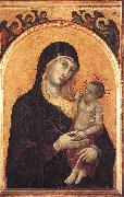 Duccio di Buoninsegna Madonna and Child with Six Angels dfg oil painting reproduction
