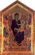 Duccio The Rucellai Madonna oil on canvas