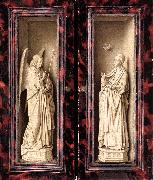 EYCK, Jan van Small Triptych (outer panels) rt oil painting reproduction