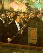 Edgar Degas The Orchestra of the Opera oil painting
