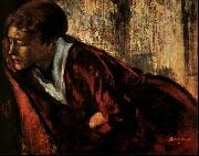 Edgar Degas Melancholy oil painting