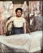 Edgar Degas A Woman Ironing oil painting reproduction