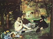 Edouard Manet Luncheon on the Grass oil painting artist