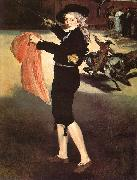 Edouard Manet Mlle Victorine in the Costume of an Espada oil painting
