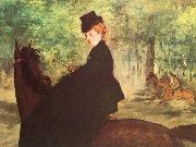 Edouard Manet The Horsewoman oil painting