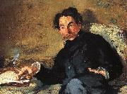 Edouard Manet Portrait of Stephane Mallarme oil painting